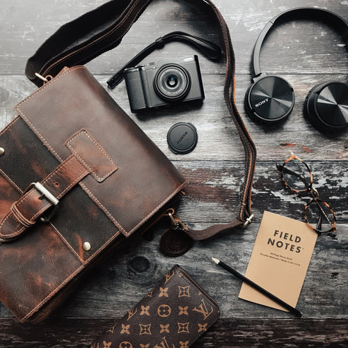 Cheltenham Leather Messenger Bag 2019
