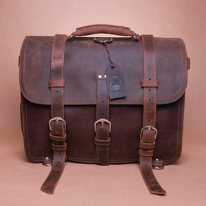 The Fairford Leather Bag with Backpack Attachments