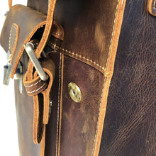Leather Backpack cotswold hipster