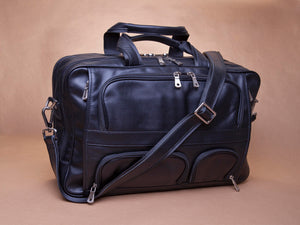 Black Laptop Bag Messenger Bag