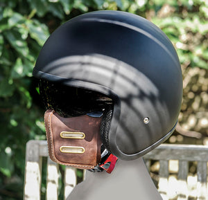 The Bourton Leather Motorcycle Mask, bobber, caferacer