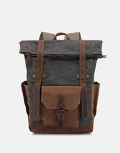 The Malmesbury Waxed Canvas and Leather Backpack (2019)