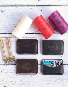 DISCONTINUED LEATHER The Tysoe Hand-stitched Leather Minimalist Wallet