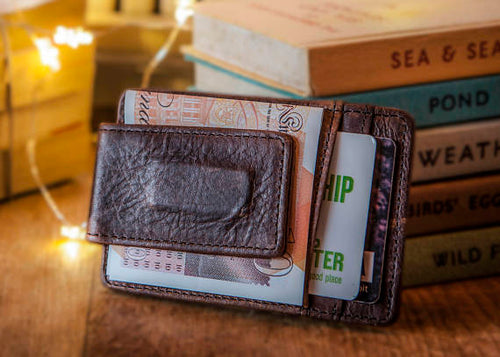 The Snowshill Leather Money Clip (2018)