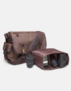The Stanton Heavy Grade Waxed Canvas Camera Bag (2018)