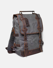 The Stanton Heavy Grade Waxed Canvas and Leather Backpack (2020)