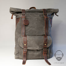 Large Waxed Canvas Backpack 2019