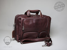 The Tewkesbury Leather laptop bag (2018)