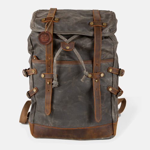 The Nailsworth Waxed Canvas Backpack