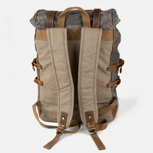 Waxed canvas backpack (The Nailsworth)