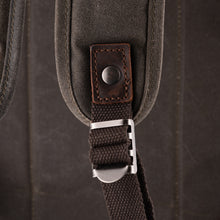 The Stanton Pro waxed canvas and leather Camera Backpack 2019
