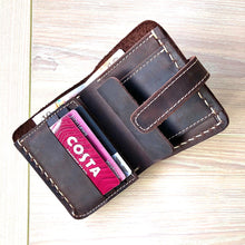 The Woolstone Mens Leather Wallet