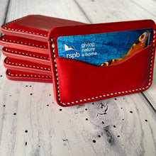 Italian Leather Hand-stitched Minimalist Wallet