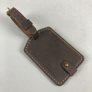 The Burford Luggage Tag