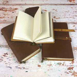 The Hazelton Leather Notebook Journal
