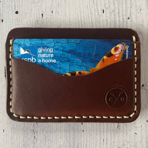 The Tysoe Hand-stitched Leather Minimalist Wallet
