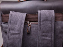 The Burford Leather And Canvas Camera Backpack Bags