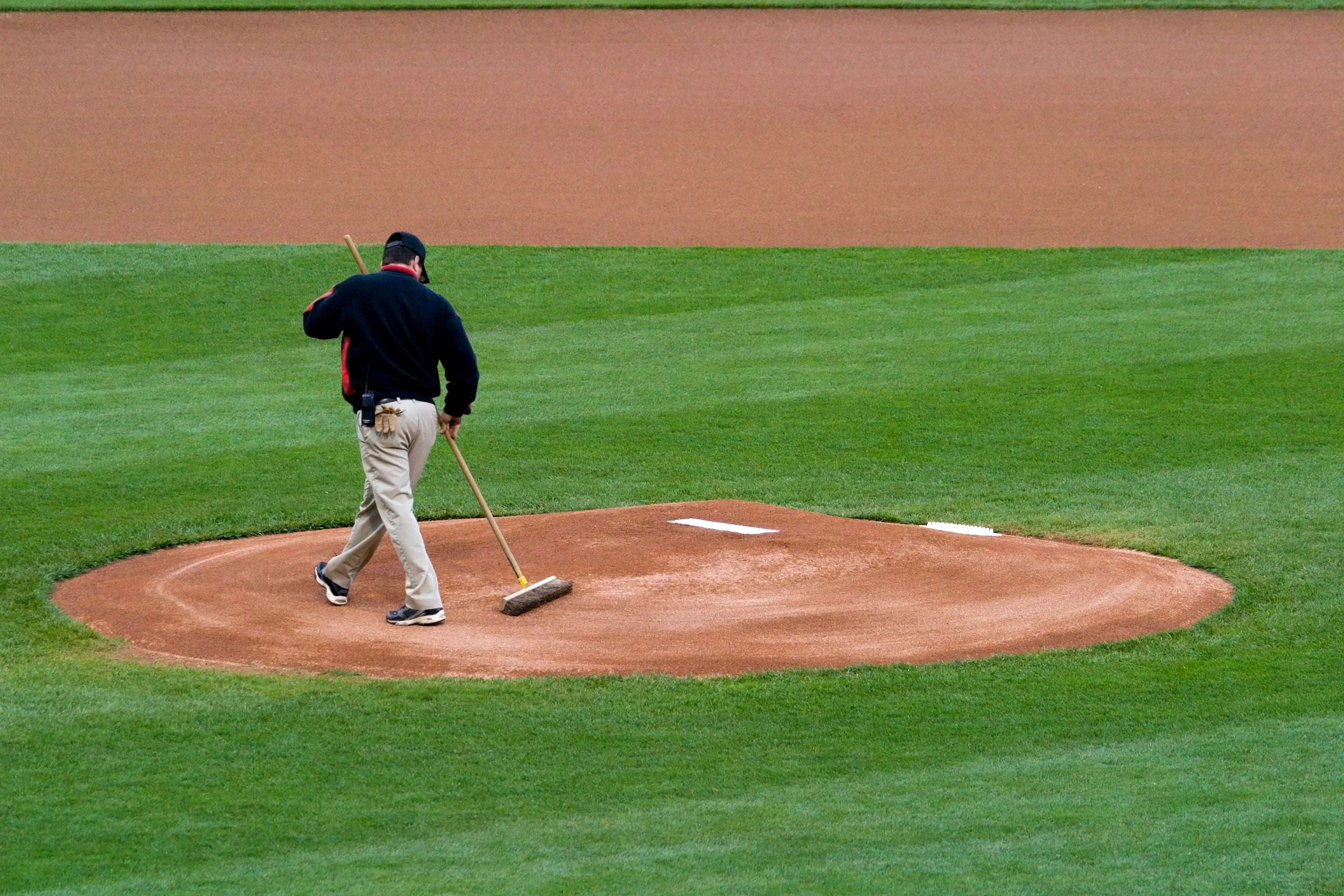 Grooming Pitchers Mound