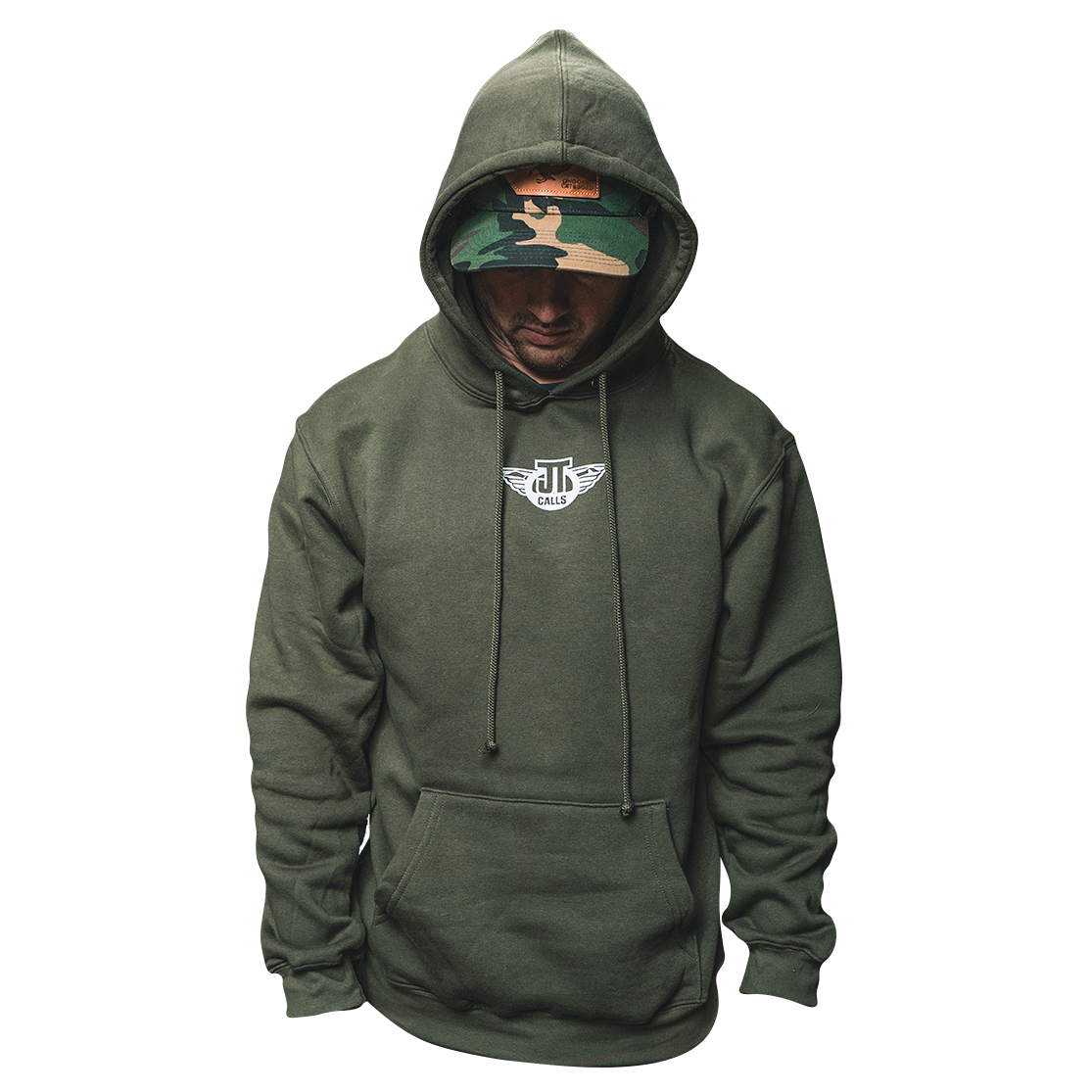 Goose Hoodie - Olive *MADE IN USA*