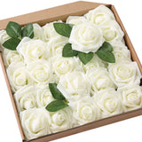 Foam Rose Wedding Bouquet Box Set