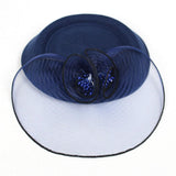 Fascinator Hats with Headband Hair Clips for Women Tea Party Wedding