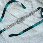 Bridemaid Belts Crystal Sashes for Wedding Dresses