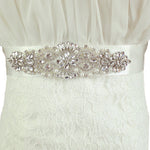 Bridesmaid Sashes Bridal Rhinestone Belts for Dresses