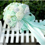 Bridesmaid Wedding Bouquet Bridal Artificial Foam Flower
