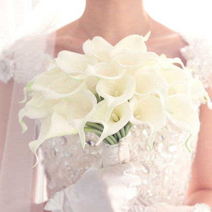 Calla Lily Bridal Wedding Bouquet Lataex