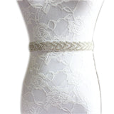 Crystal Rhinestone Wedding Bridal Belt