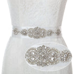 Dress Sash Wedding Accessories Bridal Crystal Rhinestone Belts