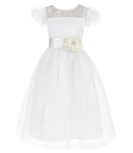 Flower Little Girl Party Dress