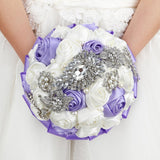 Handmade Rhinestone Bridal Bouquet wedding bouquets