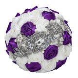 Handmade Rhinestone Bridal Bouquet wedding flower bouquets