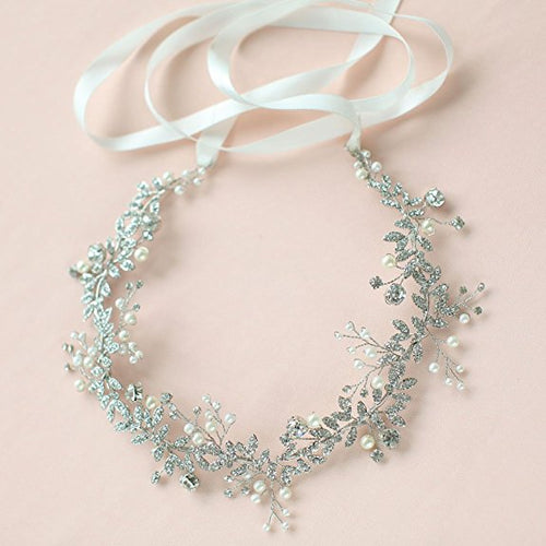 Handmade Crystal Wedding Head Band wedding hair pieces