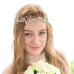 Handmade Crystal Wedding Head Band