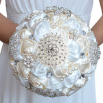 Handmade Rhinestone Brooch Wedding Bridal Bouquets