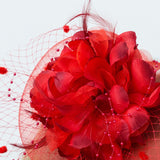 Wedding Red Wedding Fascinators Occasion Hats Tea Party Hat