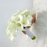 Real Touch Latex Calla Lily Artificial Silk flowers for Wedding Bouquets