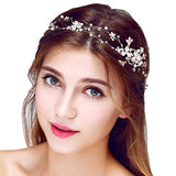 Rhinestone Beaded Bridal Head Band wedding accessories