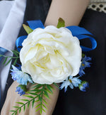 Rose Corsage Wristlet Party Prom Flower Hand Flower 4 Pack