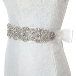Sparkly Belts for Dresses Crystal Rhinestone Wedding Sash