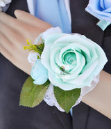 Wedding Corsages Wrist Party Prom Hand Flower 4 Pack