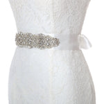 Wedding Dress Sash Crystal Rhinestone Bridal Belts