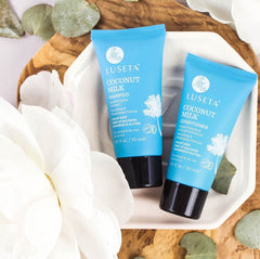 Coconut Milk Travel Set Duo