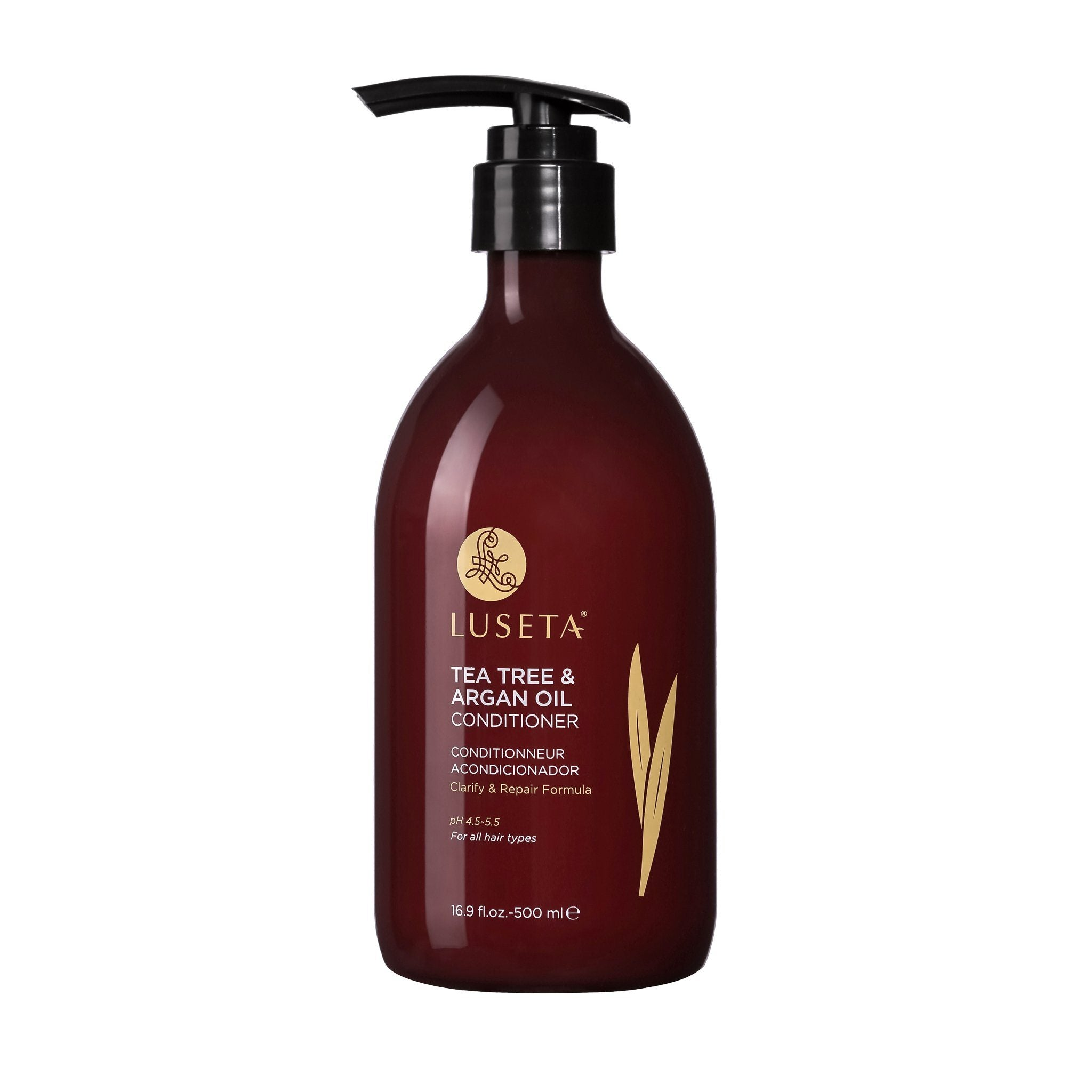 --Luseta Tea Tree & Argan Oil Conditioner RED Collection - Luseta Beauty--