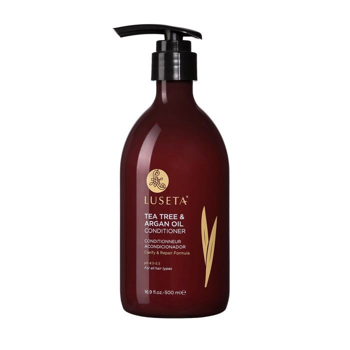Luseta Tea Tree & Argan Oil Conditioner RED Collection - Luseta Beauty