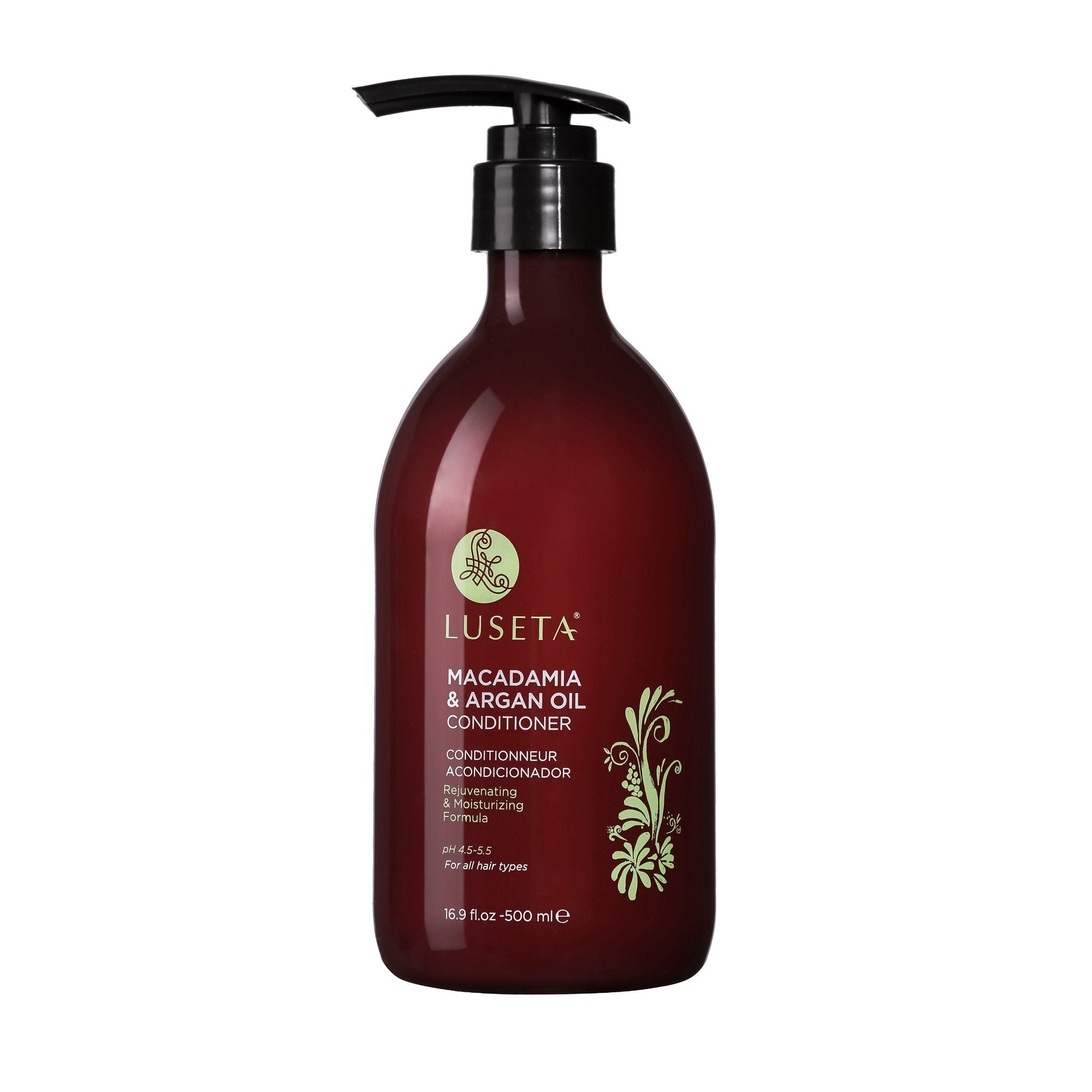 --Luseta  Macadamia & Argan Oil Coniditioner RED Collection - Luseta Beauty--