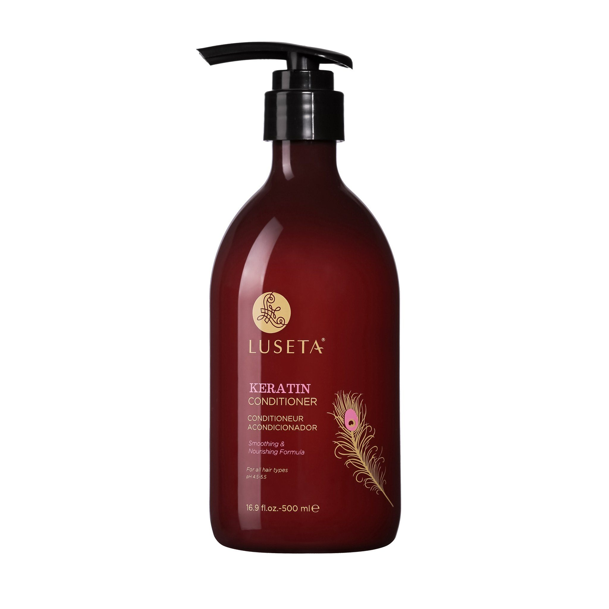 Keratin Smooth Conditioner RED Collection - Luseta Beauty