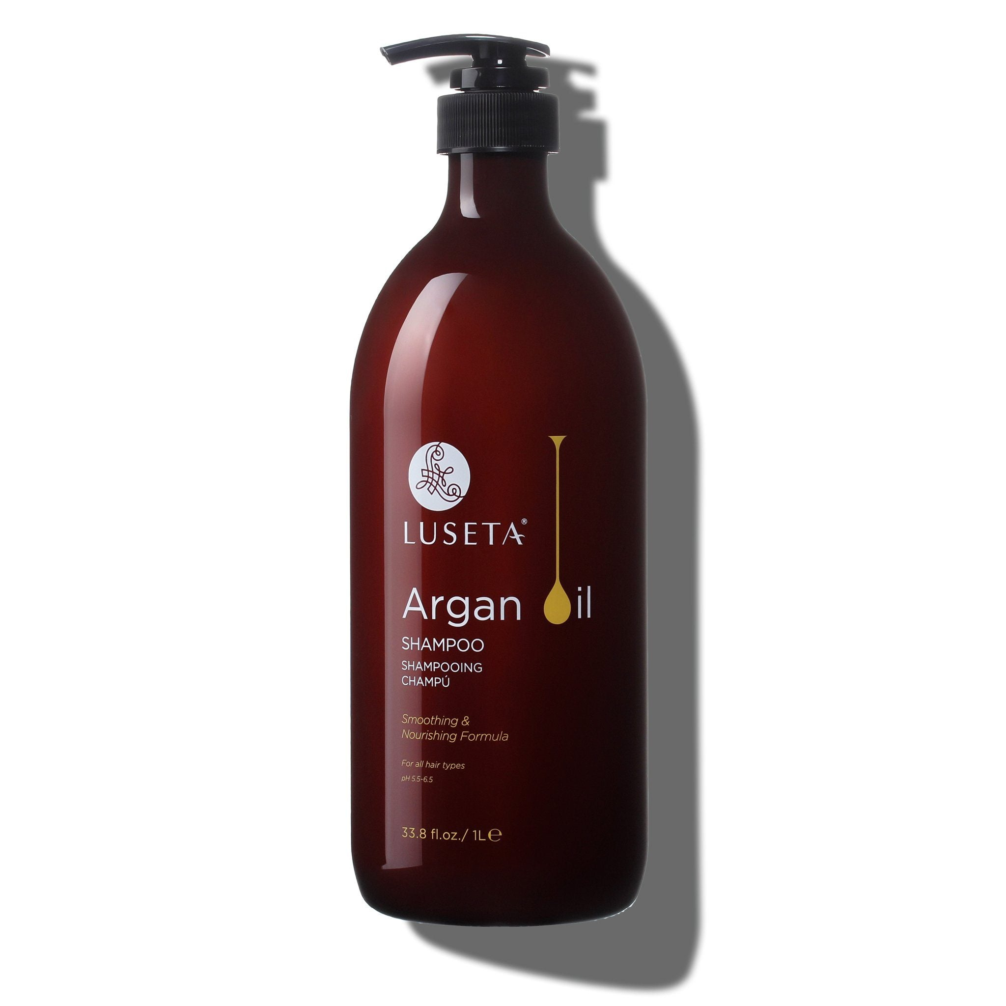 --Argan Oil Shampoo - Luseta Beauty--